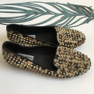 "Steve Madden ""Studly"" Leather Flats Size 7"